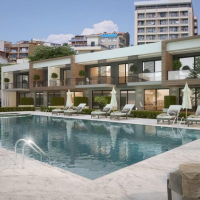 1 Bedroom New Apartment For Sale in Marina Kusadasi with Shared Pool
