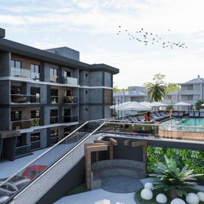 For Sale Project 2 or 3 Bedrooms Luxury Apartment in Kusadasi