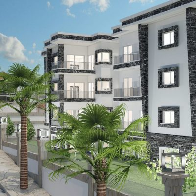 Sea View Apartment Project in Kusadasi Views Towards Bird's Island and Harbor