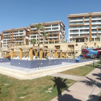 Luxurious Spacious Sea and Marina View Apartment in Kusadasi center