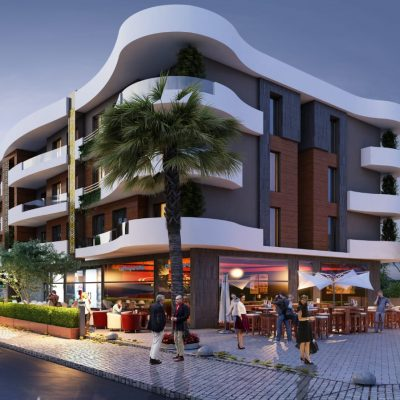 Luxurious Apartments in Kusadasi Town Center with Payment Plan Possible