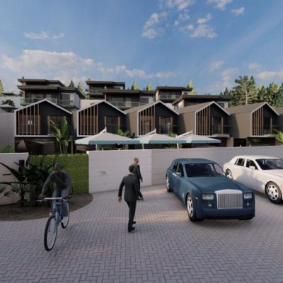 New life villa underconstruction for sale