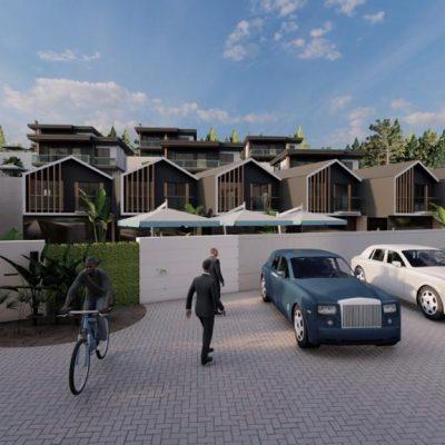 New life villa underconstruction for sale