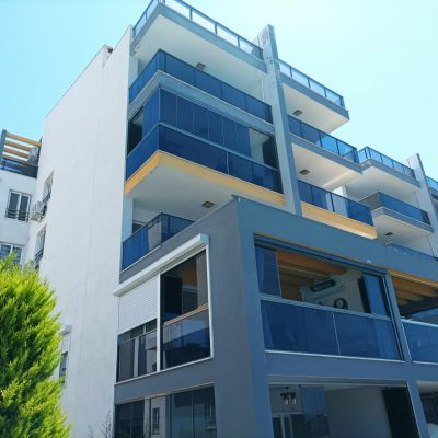 FOR SALE 3 BEDROOMS APARTMENT WİTH SHARED POOL AND SEA VİEW